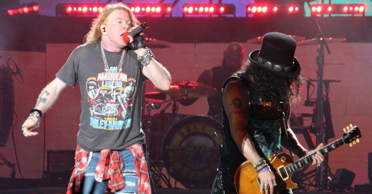 สั่นสะเทือนชาวร็อคเมืองไทย Guns N' Roses ปลุกพลังเดือดพล่าน สุดมันส์แห่งปี!