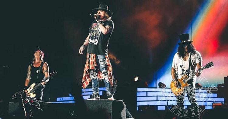 Guns N' Roses แสดงคอนเสิร์ตในไทย ไม่ใช่ความฝันอีกต่อไป โดย อนุสรณ์ สถิรรัตน์
