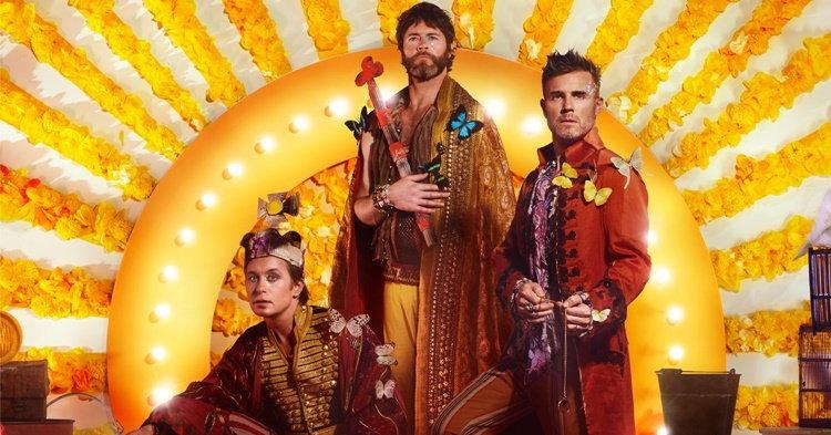 """Take That ปล่อยซิงเกิ้ล """"Giants"""" เตรียมปล่อยอัลบั้มใหม่ 24 มีนานี้"""