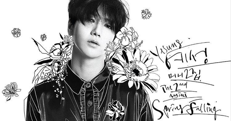 """Yesung ปล่อยโซโล่มินิอัลบั้มชุดที่ 2 """"Spring Falling"""""""