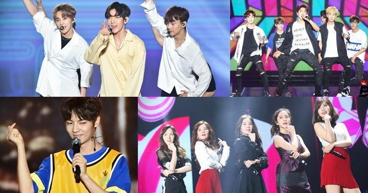 EXO-C.B.X นำทีม Red Velvet และ Romeo ปล่อยพลังตะมุตะมิใส่แฟนไทยเต็มๆ