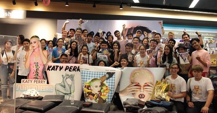 รวมพลคนรัก Katy Perry ใน KATYCATS x WITNESS อบอุ่นขั้นสุด