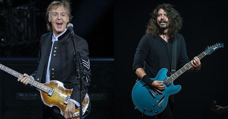"Paul McCartney ร่วมแจมอัลบั้มใหม่ของ Foo Fighters ""Concrete And Gold"""