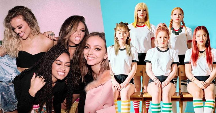 """Little Mix เกือบได้ร้องเพลง """"Red Flavor"""" ของ Red Velvet"""