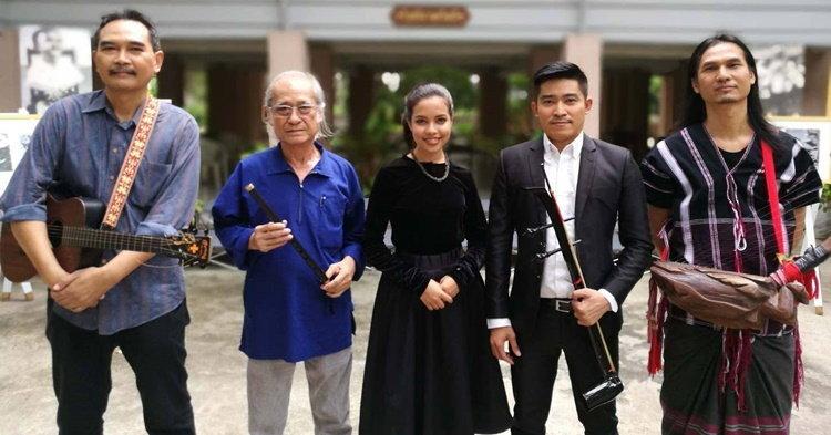"""เนาวรัตน์ พงษ์ไพบูลย์"""" นำทีมคีตศิลปิน สร้างกำลังใจชาวไทยผ่านเอ็มวี """"พรแผ่นดิน"""""""