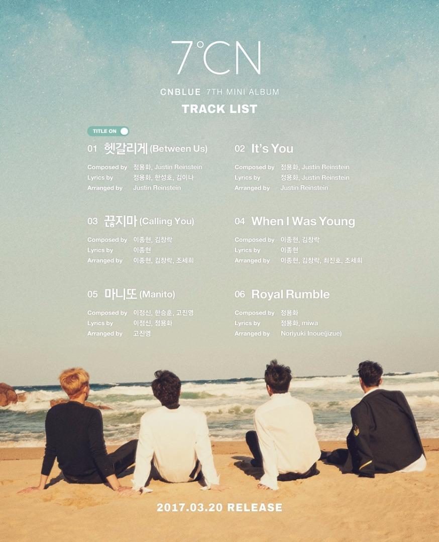 CNBLUE 7˚CN Promo