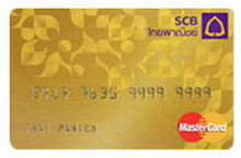 บัตรเครดิตไทยพาณิชย์ วีซ่า บัตรทอง บัตรเครดิตไทยพาณิชย์ มาสเตอร์การ์ด บัตรทอง