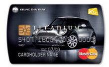 บัตรเครดิต KTC MINI Cooper Titanium MasterCard