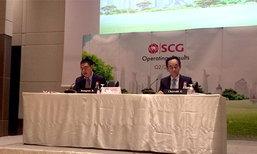 SCGคาดลงทุนรัฐหนุนตลาดปูนโต1%