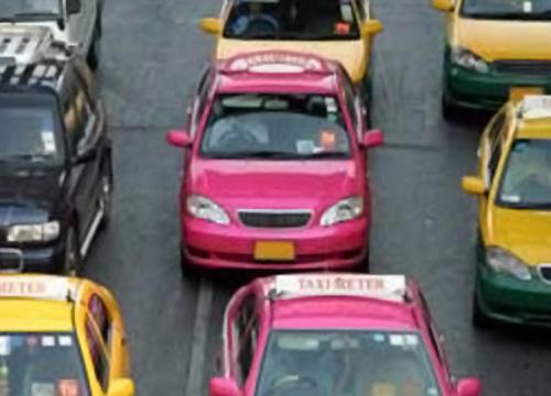 ขนส่งทางบกแจงเพดานมิเตอร์แท็กซี่