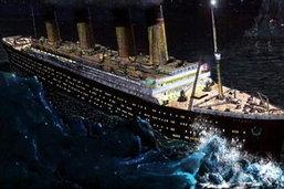 เผยเรือไททานิกล่มเนื่องจากพวงมาลัยเรือไม่ทำงาน