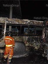 ขสมก.ยืนยันรถเมล์สาย 171 ไหม้ไม่เกี่ยวความปลอดภัยเอ็นจีวี