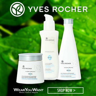 YVES ROCHER HYDRA SPECIFIC WHITE SET