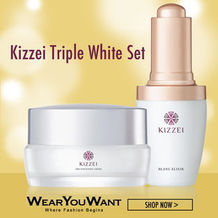 Kizzei Triple White Set
