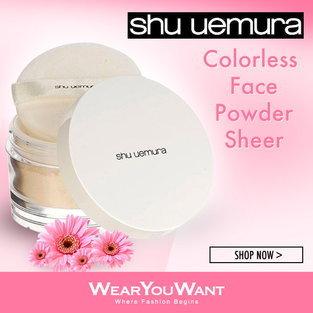 Colorless Face Powder Sheer