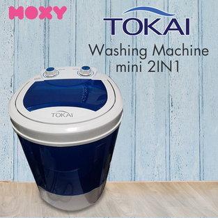 เครื่องซักผ้ามินิ TOKAI Washing Machine mini 2 in 1 รุ่น TK1 สีฟ้า