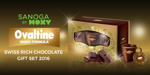 Ovaltine Swiss Rich Chocolate Gift Set 2016