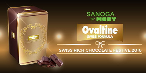 Ovaltine Swiss Rich Chocolate Festive 2016