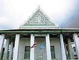 มัสยิดทรงไทย ตกแต่งด้วยศิลปะ 3 ชาติ