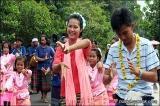 การต้อนรับนักท่องเที่ยวของหมู่บ้านซะซอม