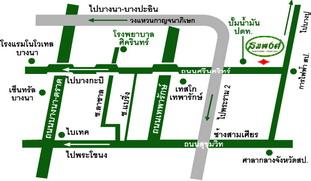 แผนที่ สวนอาหารสมพงศ์